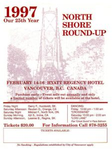 North Shore Round Up Poster 1997