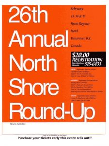 North Shore Round Up Poster 1998