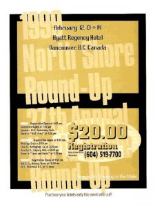 North Shore Round Up Poster 1999
