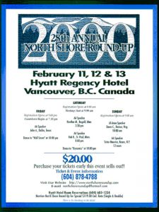 North Shore Round Up Poster 2000