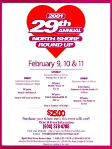 North Shore Round Up Poster 2001