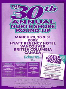 North Shore Round Up Poster 2002