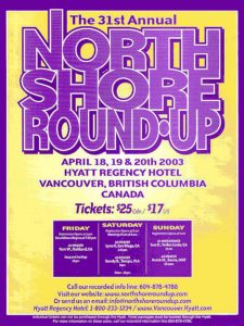 North Shore Round Up Poster 2003