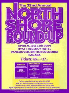 North Shore Round Up Poster 2004