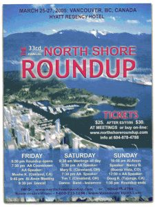 North Shore Round Up Poster 2005