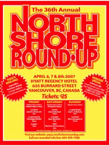 North Shore Round Up Poster 2007