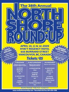 North Shore Round Up Poster 2009