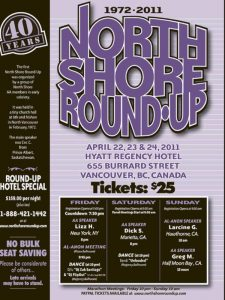 North Shore Round Up Poster 2011