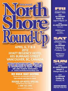 North Shore Round Up Poster 2012