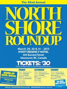 North Shore Round Up Poster 2013