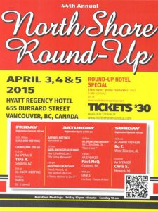 North Shore Round Up Poster 2015