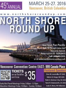 North Shore Round Up Poster 2016