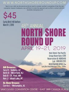 North Shore Round Up Poster 2019