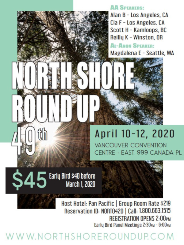 North Shore Round Up Poster 2020